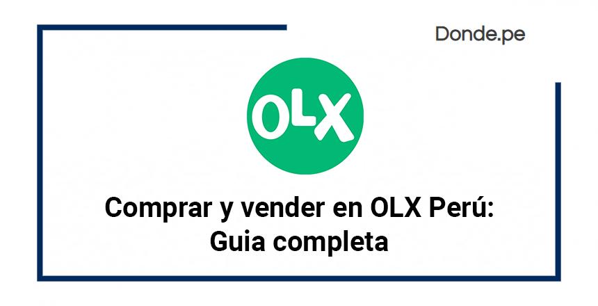 Comprar Y Vender En Olx Peru