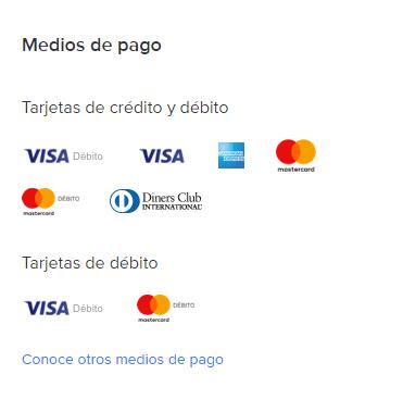 Medios Pago Mercado Libre Peru