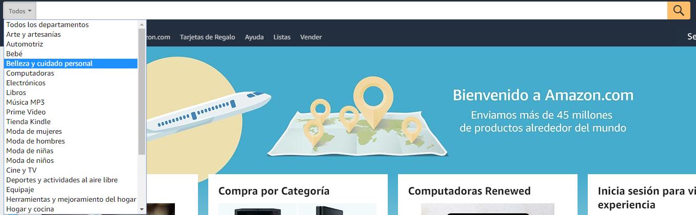 Categoria Amazon