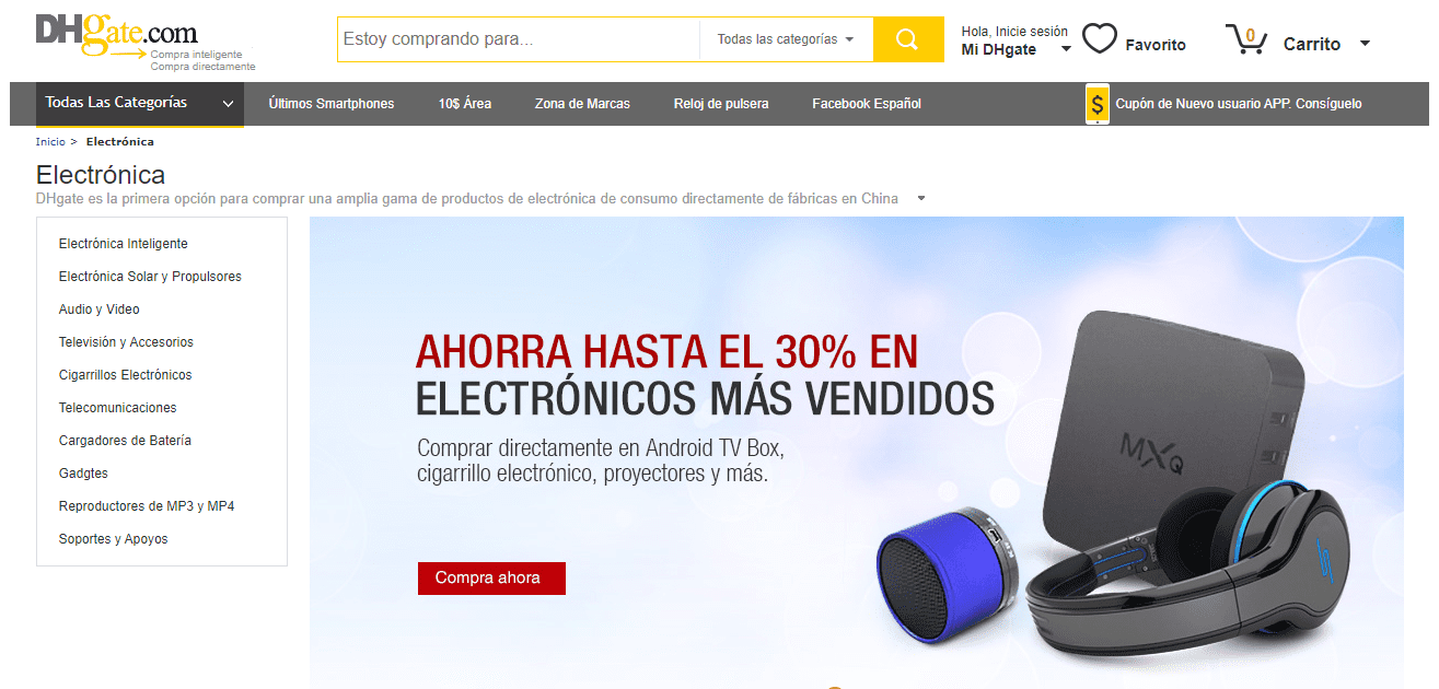 Electronica Dhgate